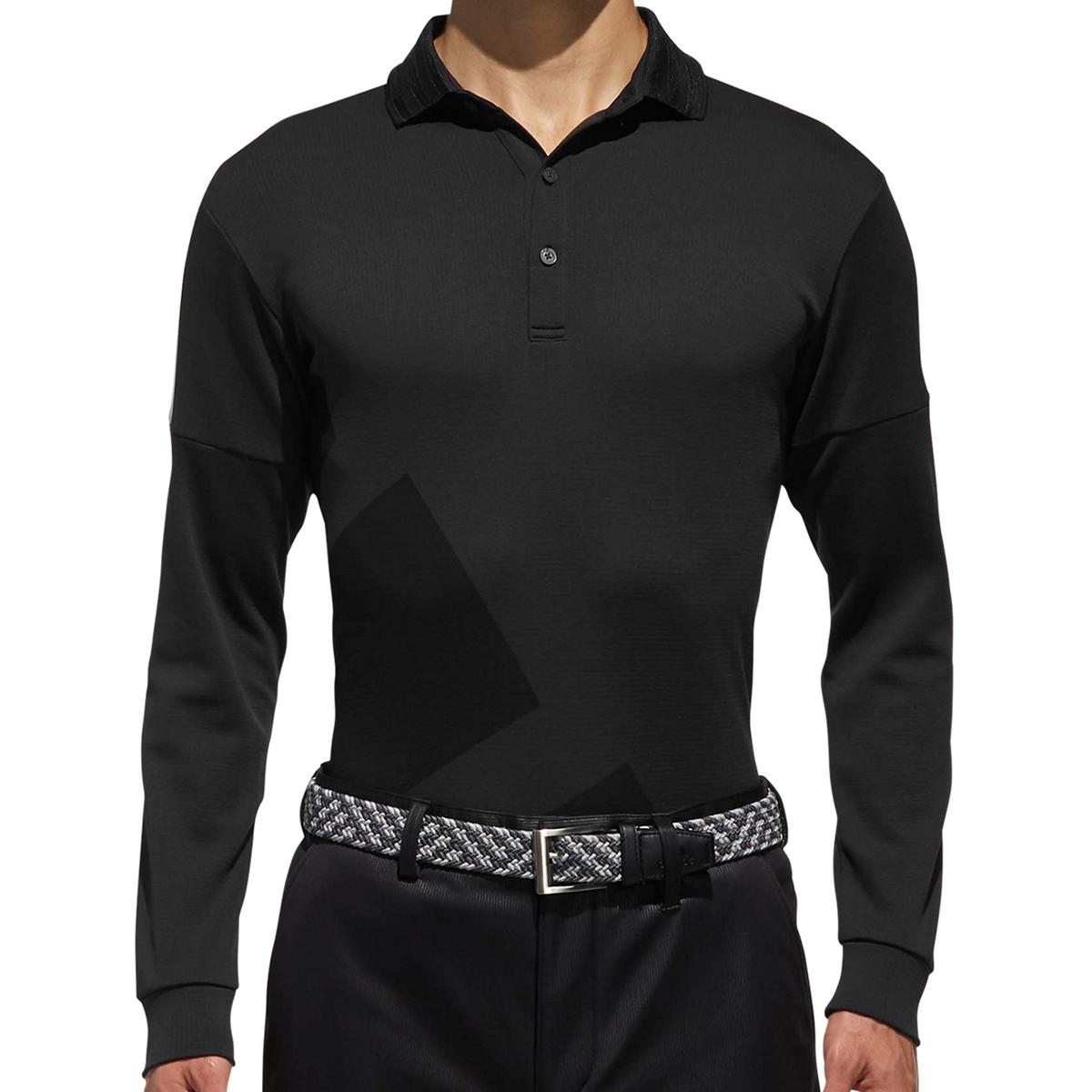 CP ビックストライプ長袖 ポロシャツ