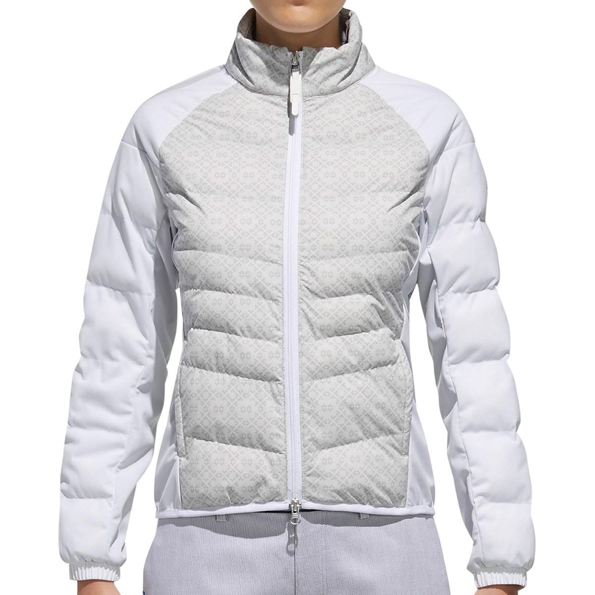 アディダス Adidas CP フィールサーモ ストレッチ長袖 ジャケット S ホワイト レディス
