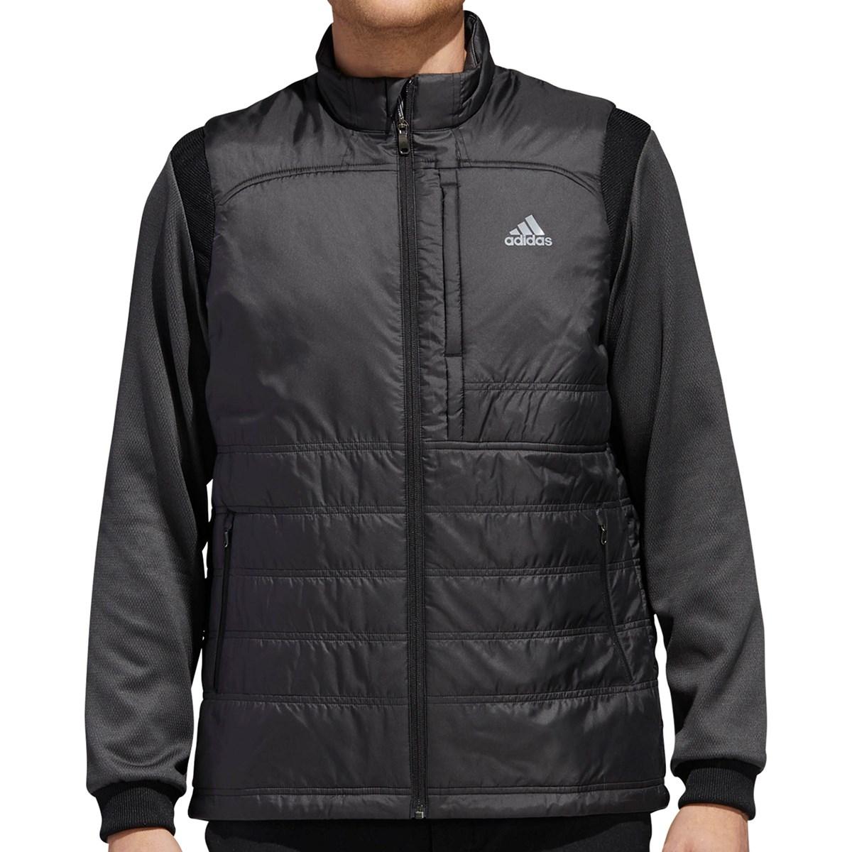 アディダス Adidas CP FROST GUARD プリマロフト ストレッチ長袖ジャケット M ブラック