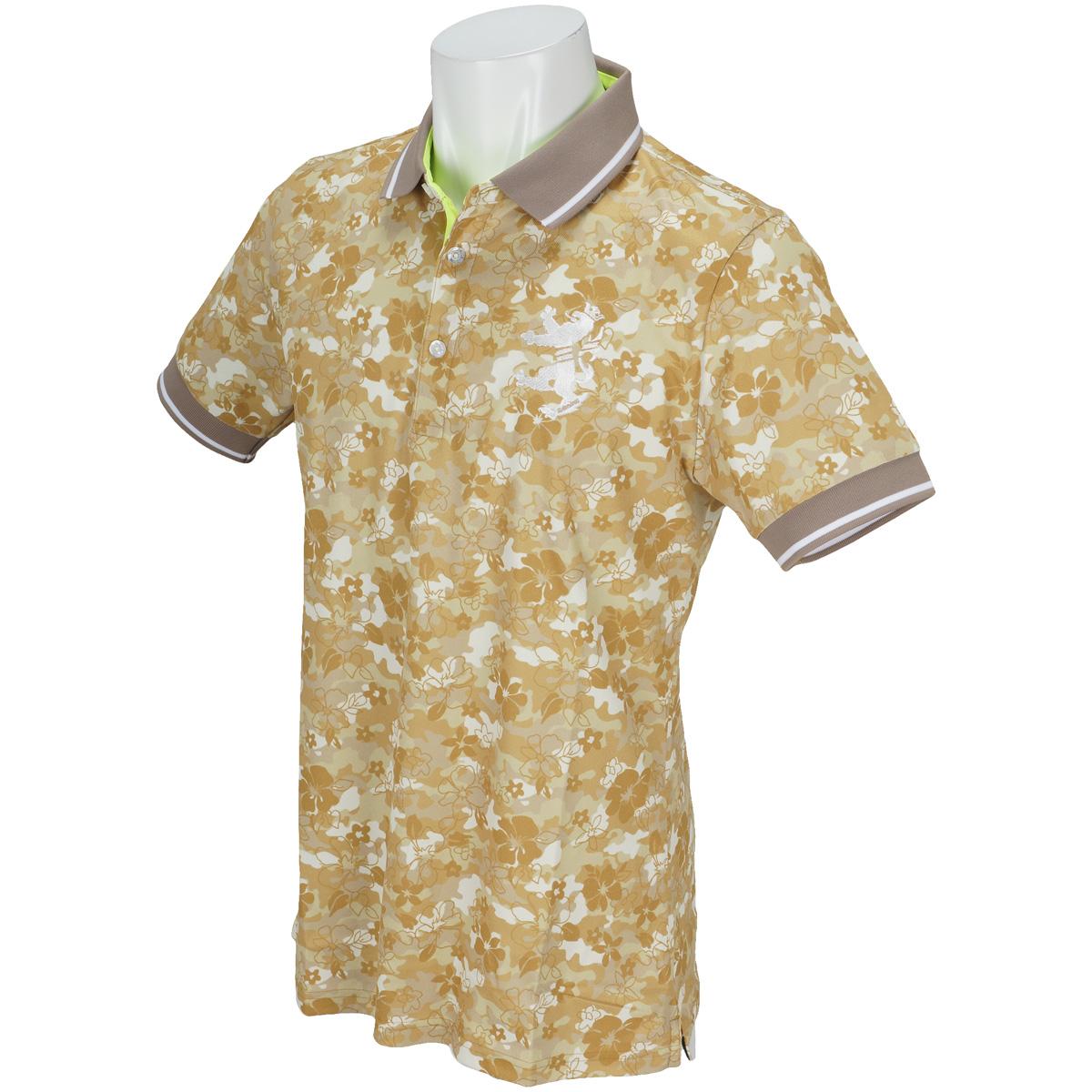 カモリーフ  半袖ポロシャツ