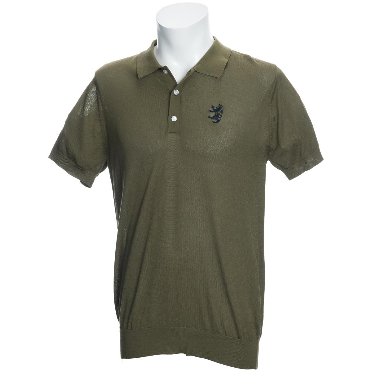バックリンクス ニット 半袖ポロシャツ