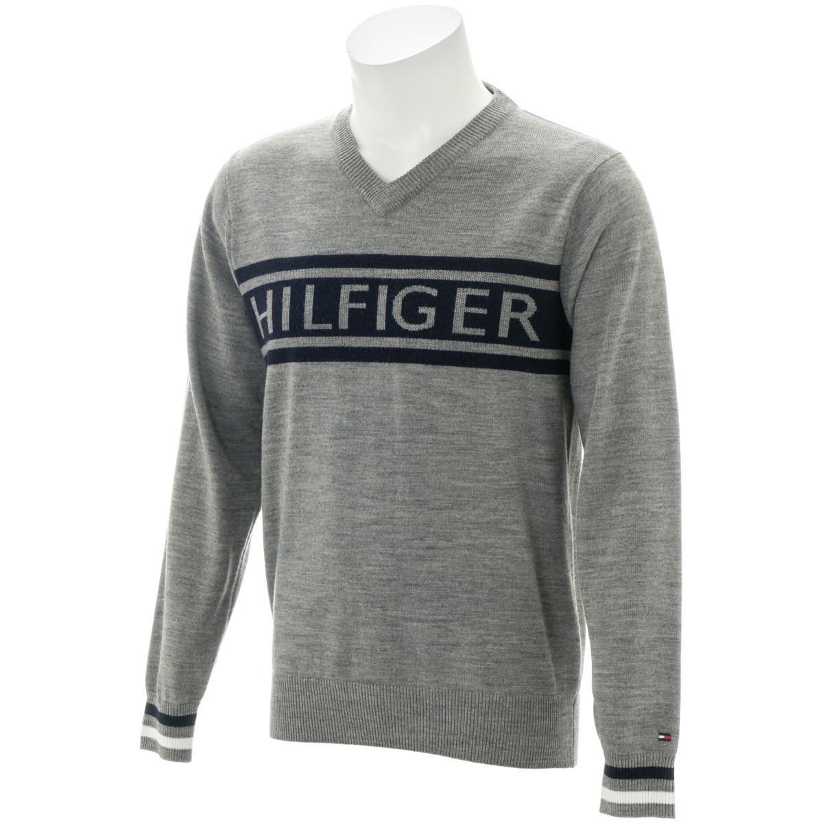 HILFIGER Vネックセーター