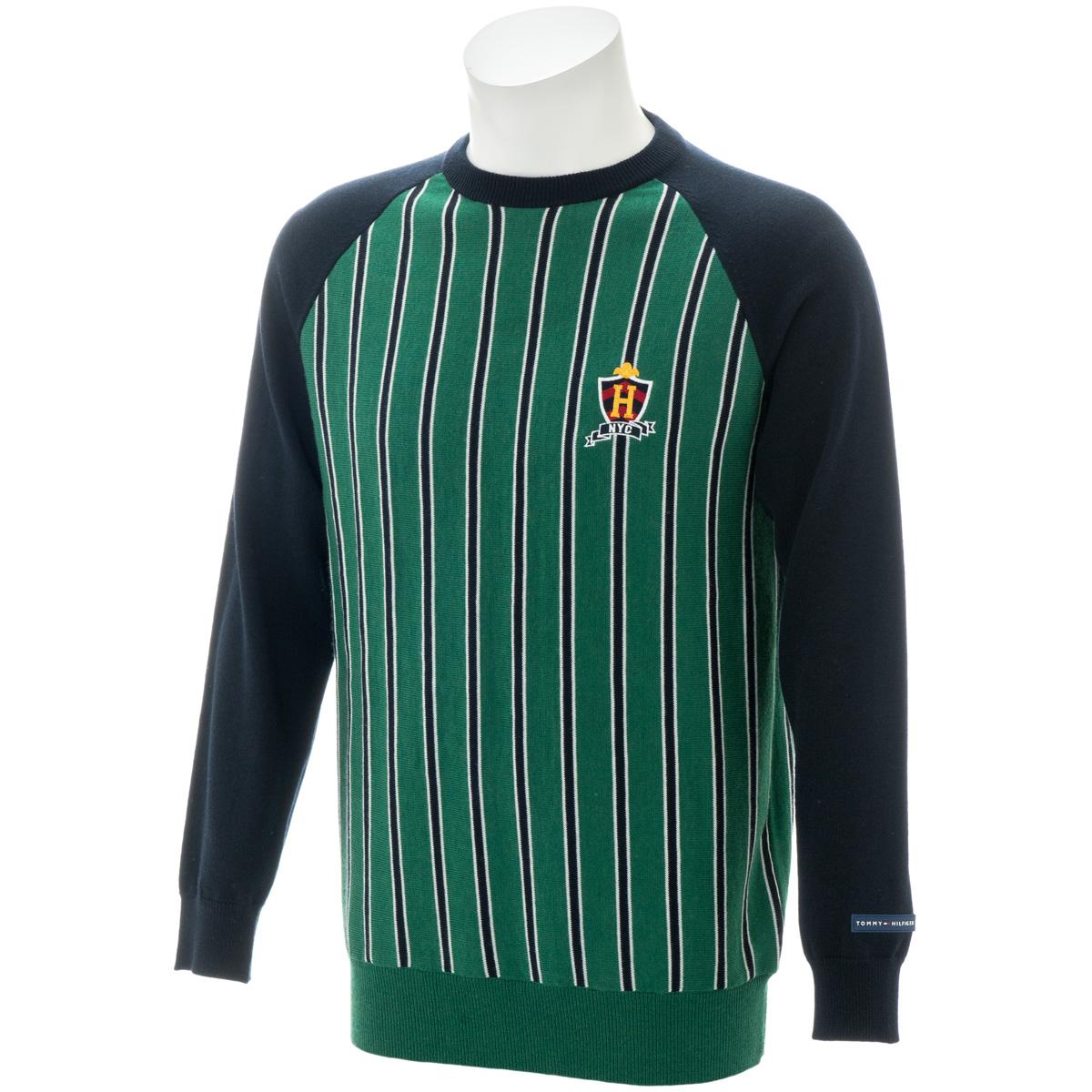 RAGLAN ストライプ セーター