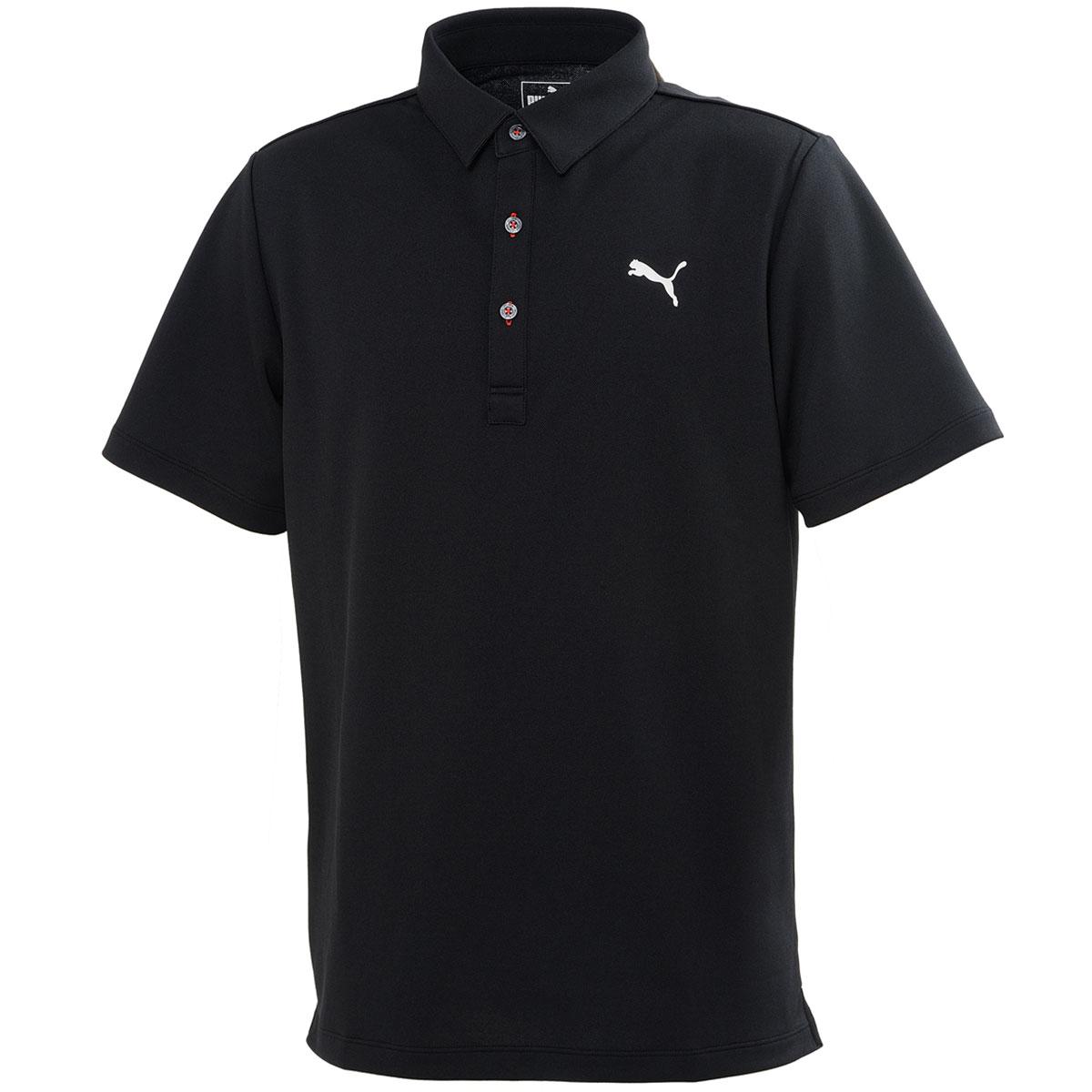 PUMAロゴ 半袖ポロシャツ