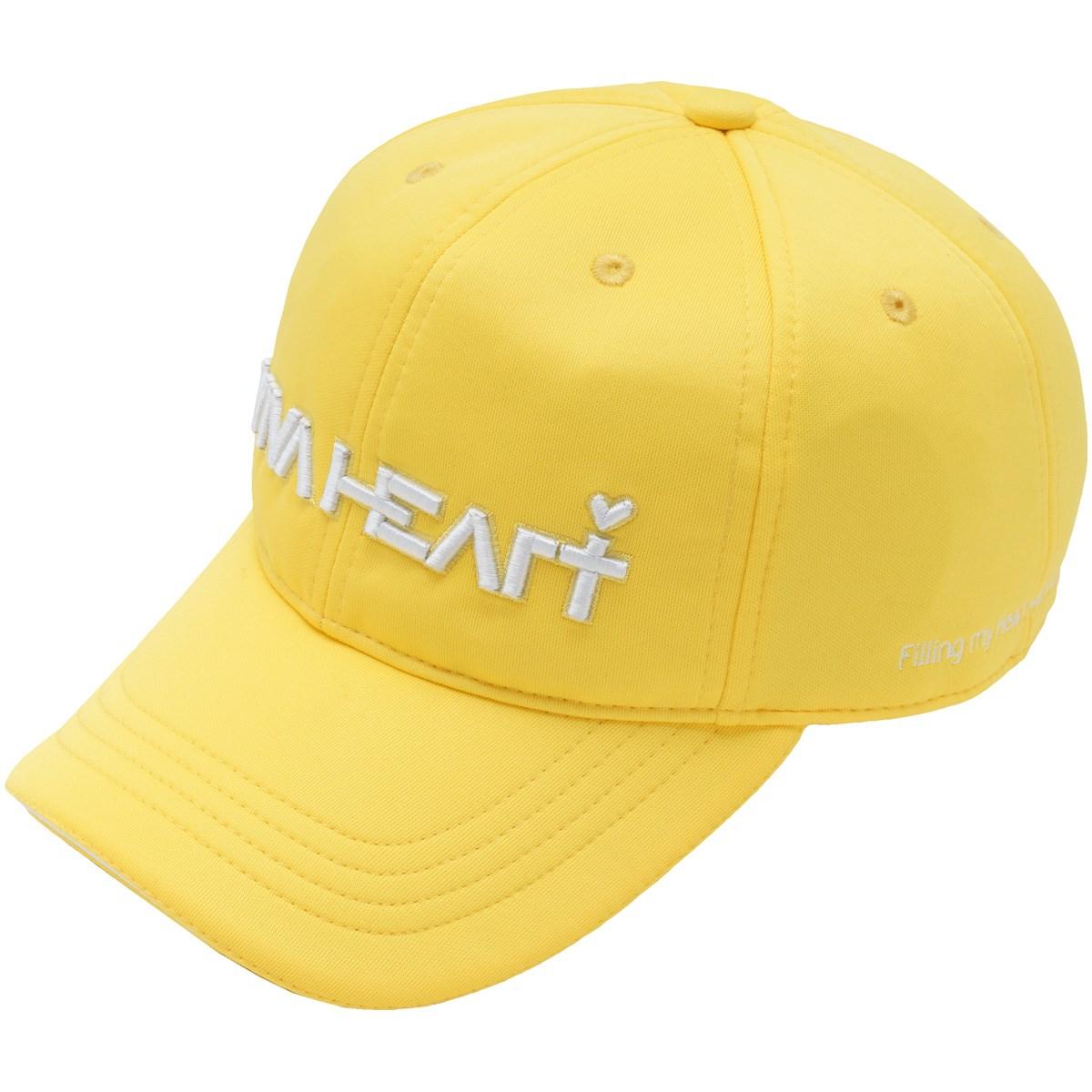 ビバハート VIVA HEART ダンボール ラウンディッシュキャップ フリー イエロー 33 レディス