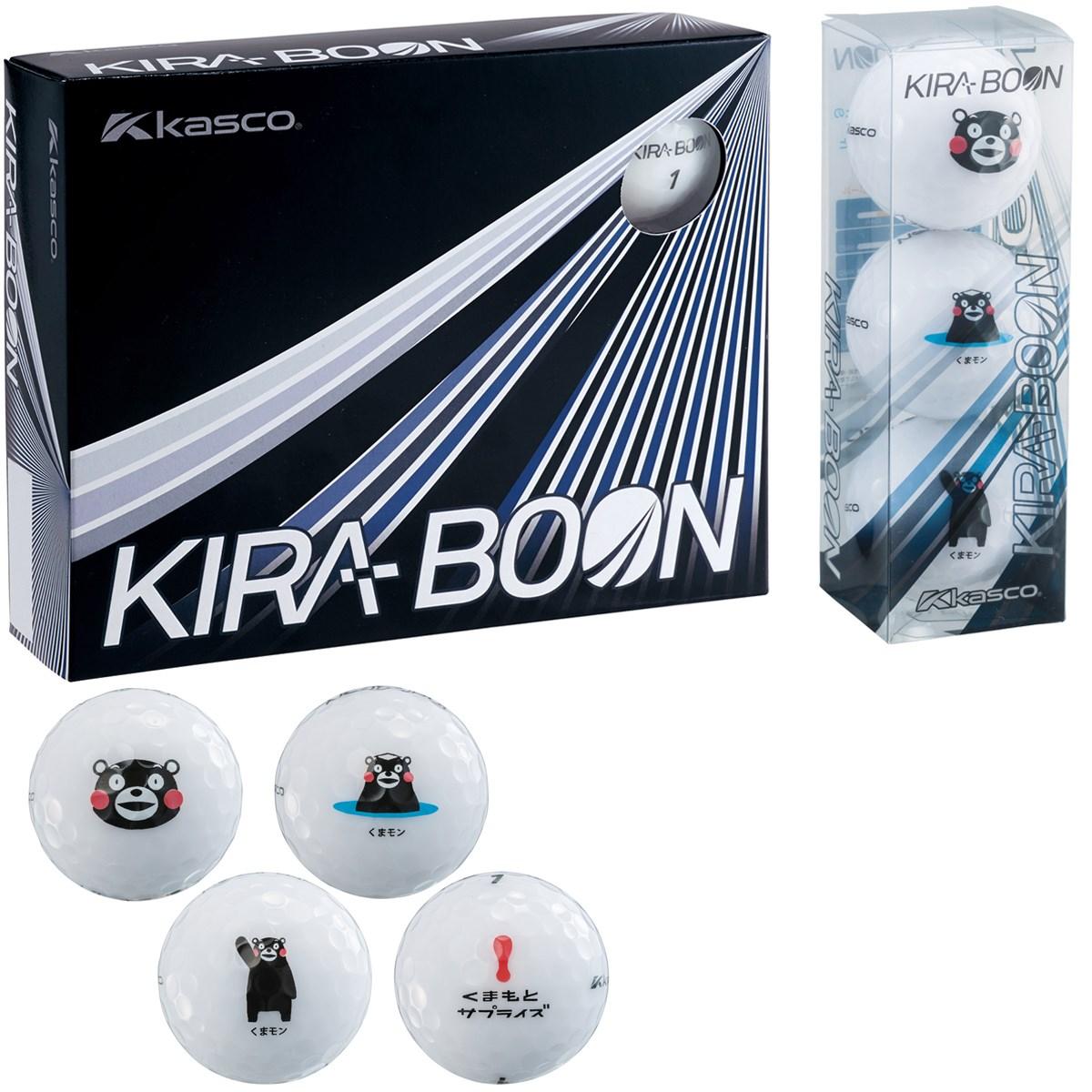 キャスコ KIRA KIRA BOON くまモン ボール 1ダース(12個入り) ホワイト