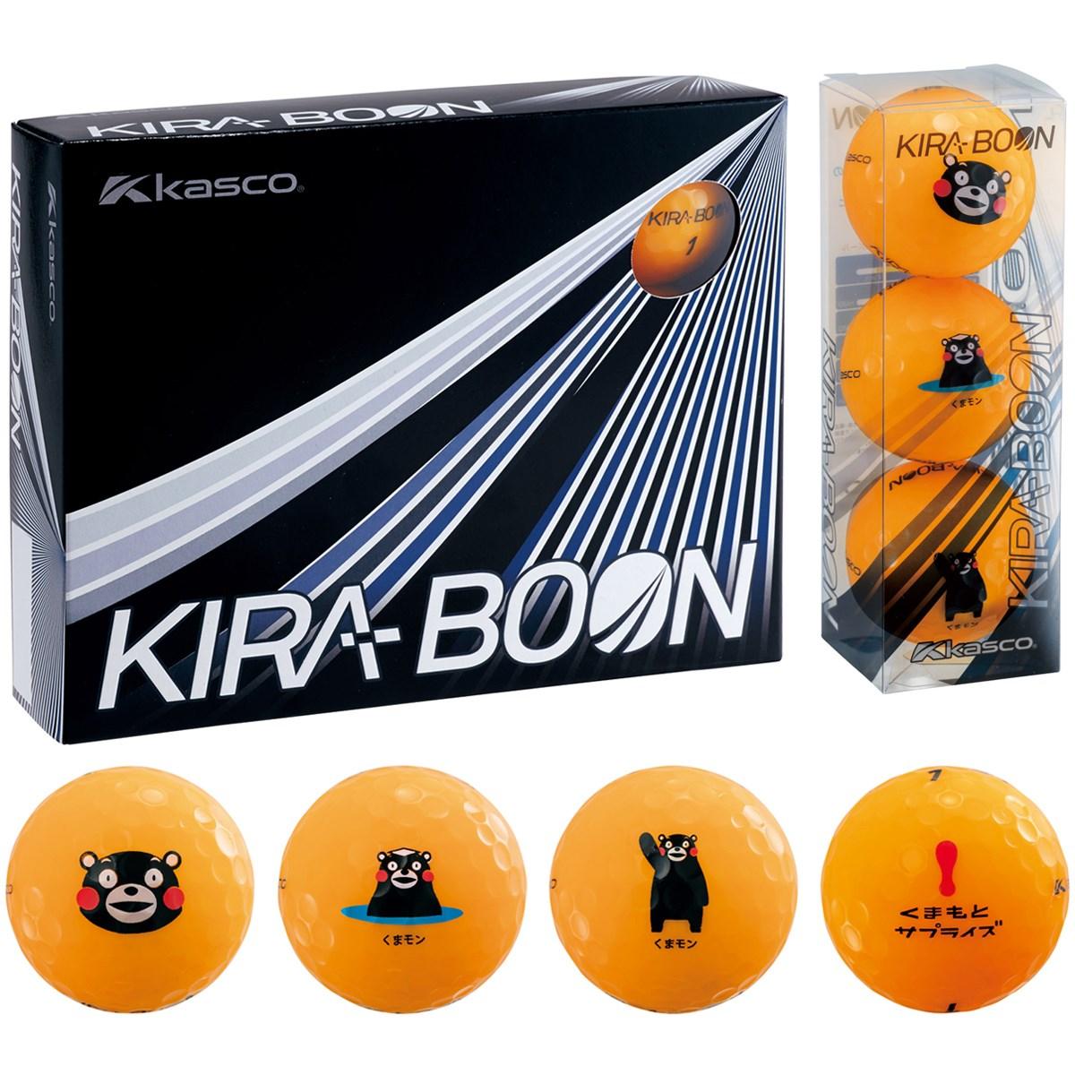 キャスコ KIRA KIRA BOON くまモン ボール 1ダース(12個入り) オレンジ