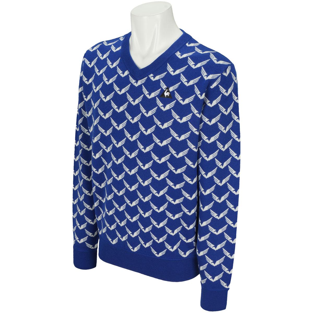 NATURE TECH Vネックセーター