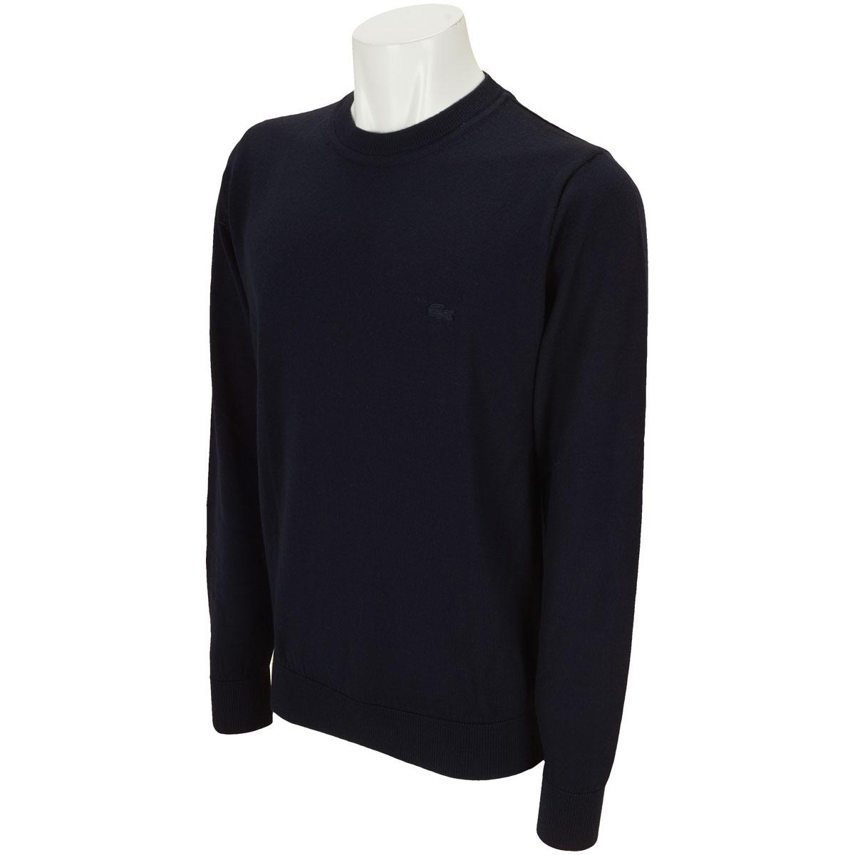 クルーネック 長袖セーター