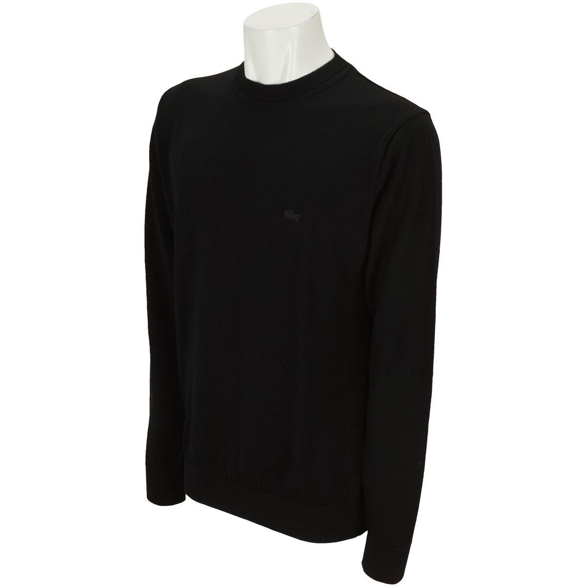 ラコステ クルーネック 長袖セーター