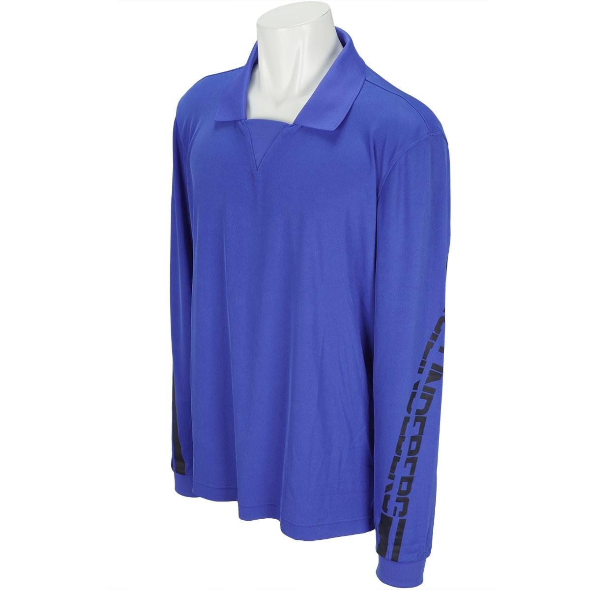 J.リンドバーグ J.LINDEBERG M6A Elias SliLux Pique 長袖シャツ 46 ブルー