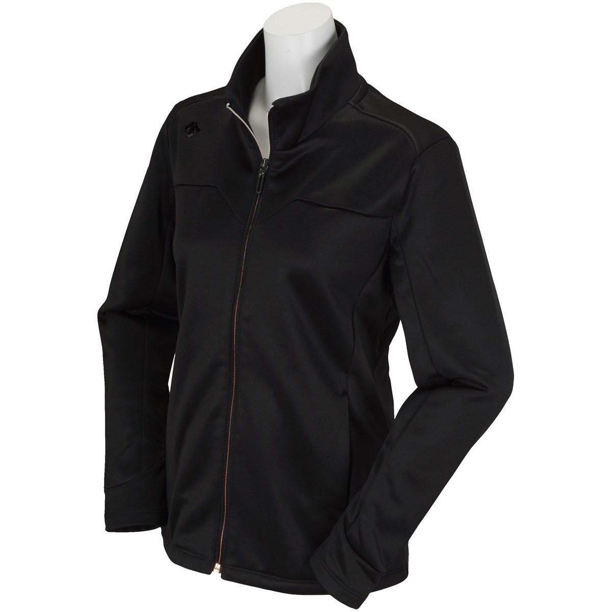 デサントゴルフ DESCENTE GOLF ストレッチ ジャージージャケット M ブラック レディス
