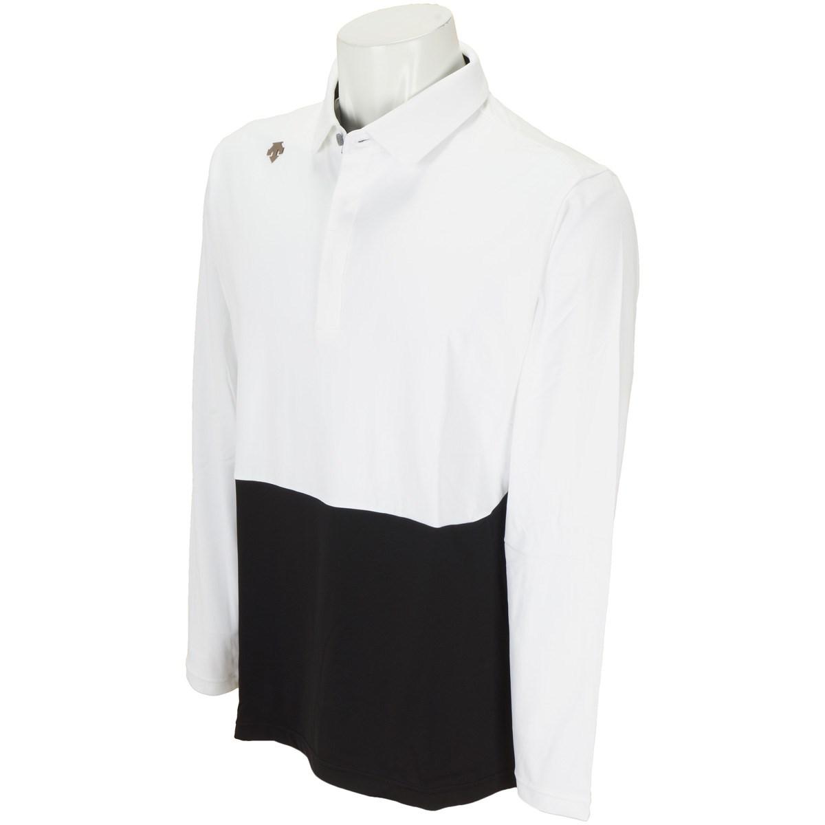 デサントゴルフ(DESCENTE GOLF) ストレッチ 長袖ポロシャツ