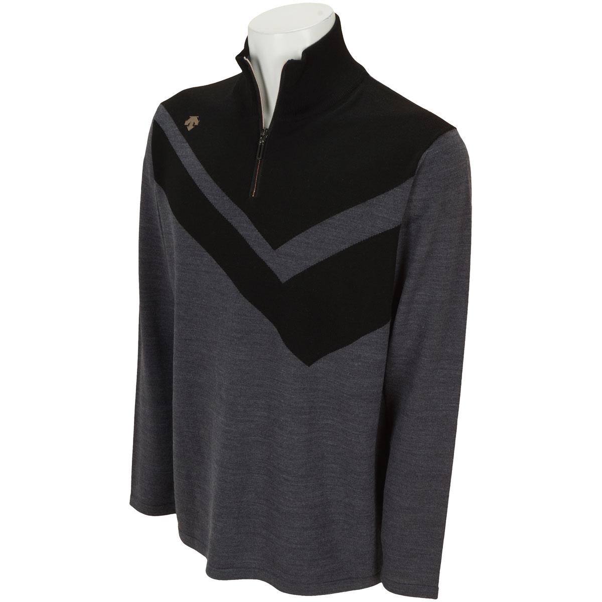 ウール高率混セーター