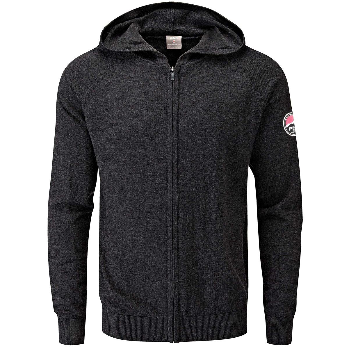 ノックス フード付きフルジップセーター