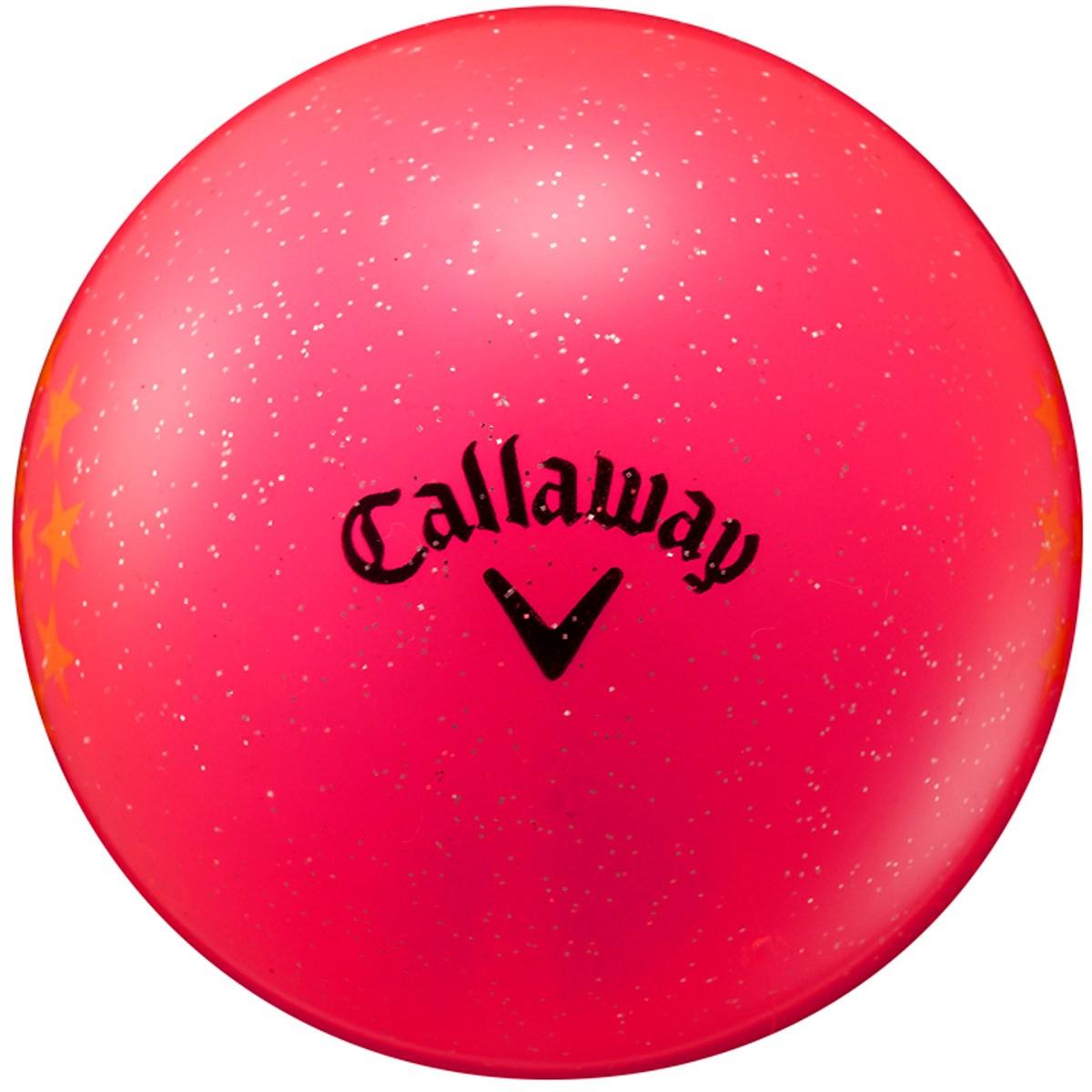 キャロウェイゴルフ Callaway Golf BL PG STAR 18 JM パークゴルフボール ピンク