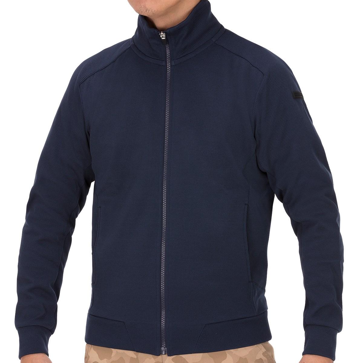 GDO オリジナル フルジップ防風ニットジャケット