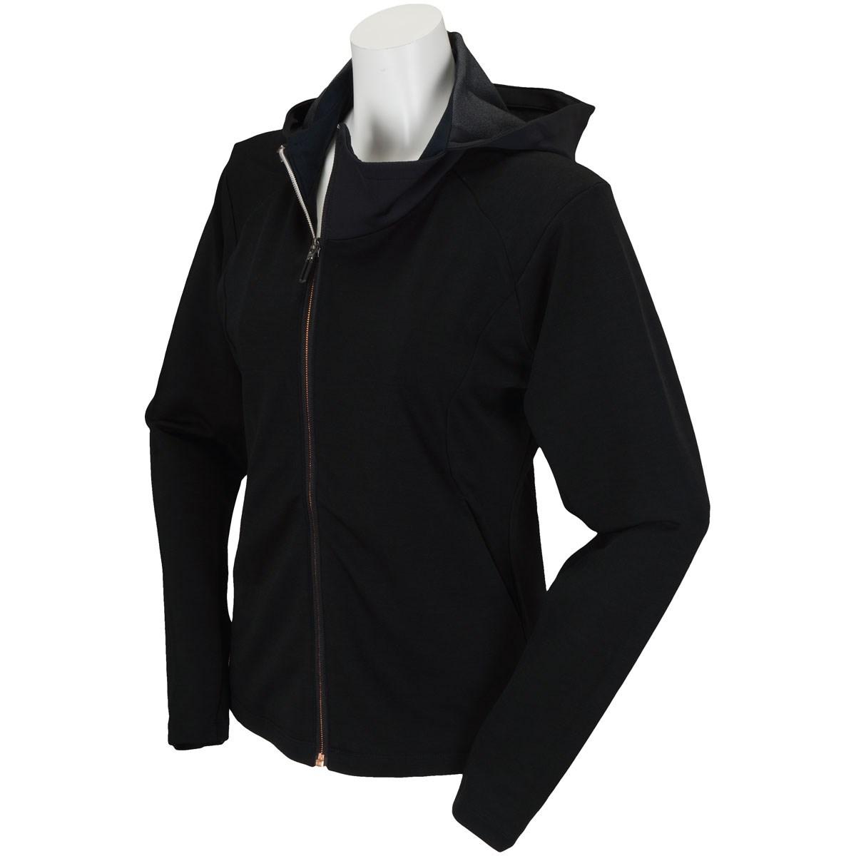 デサントゴルフ DESCENTE GOLF ジャージージャケット S ブラック レディス
