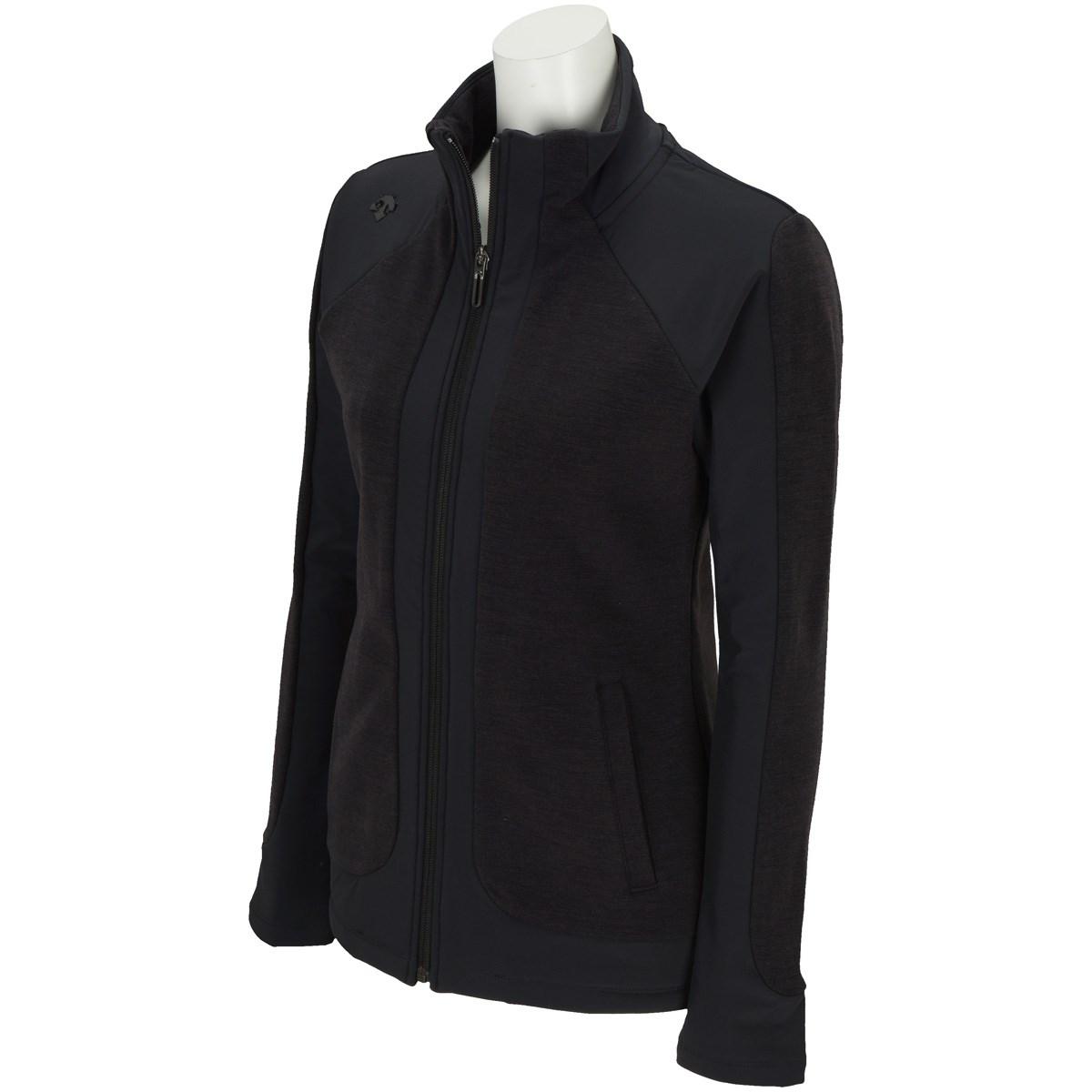 デサントゴルフ DESCENTE GOLF ストレッチフルジップジャージージャケット M ブラック レディス