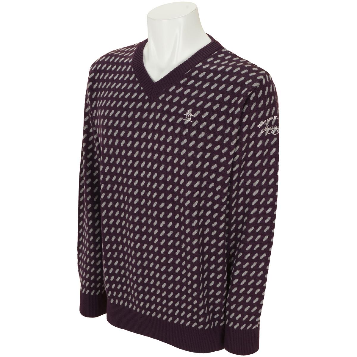 インターシャセーター