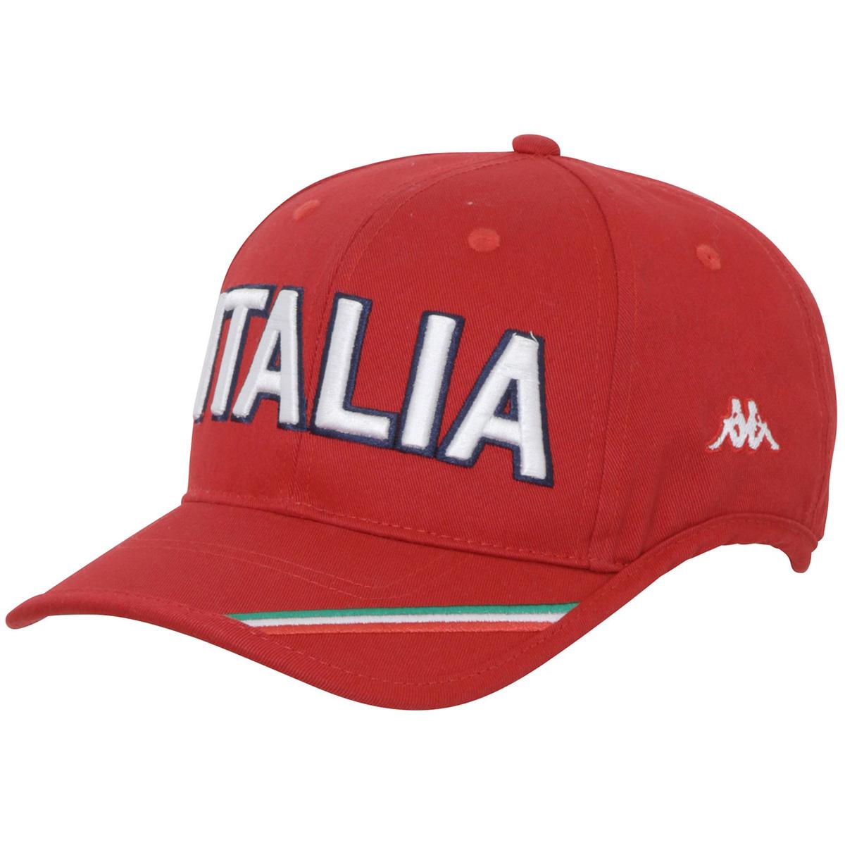 Kappa GOLF ITALIAロゴ刺繍キャップ