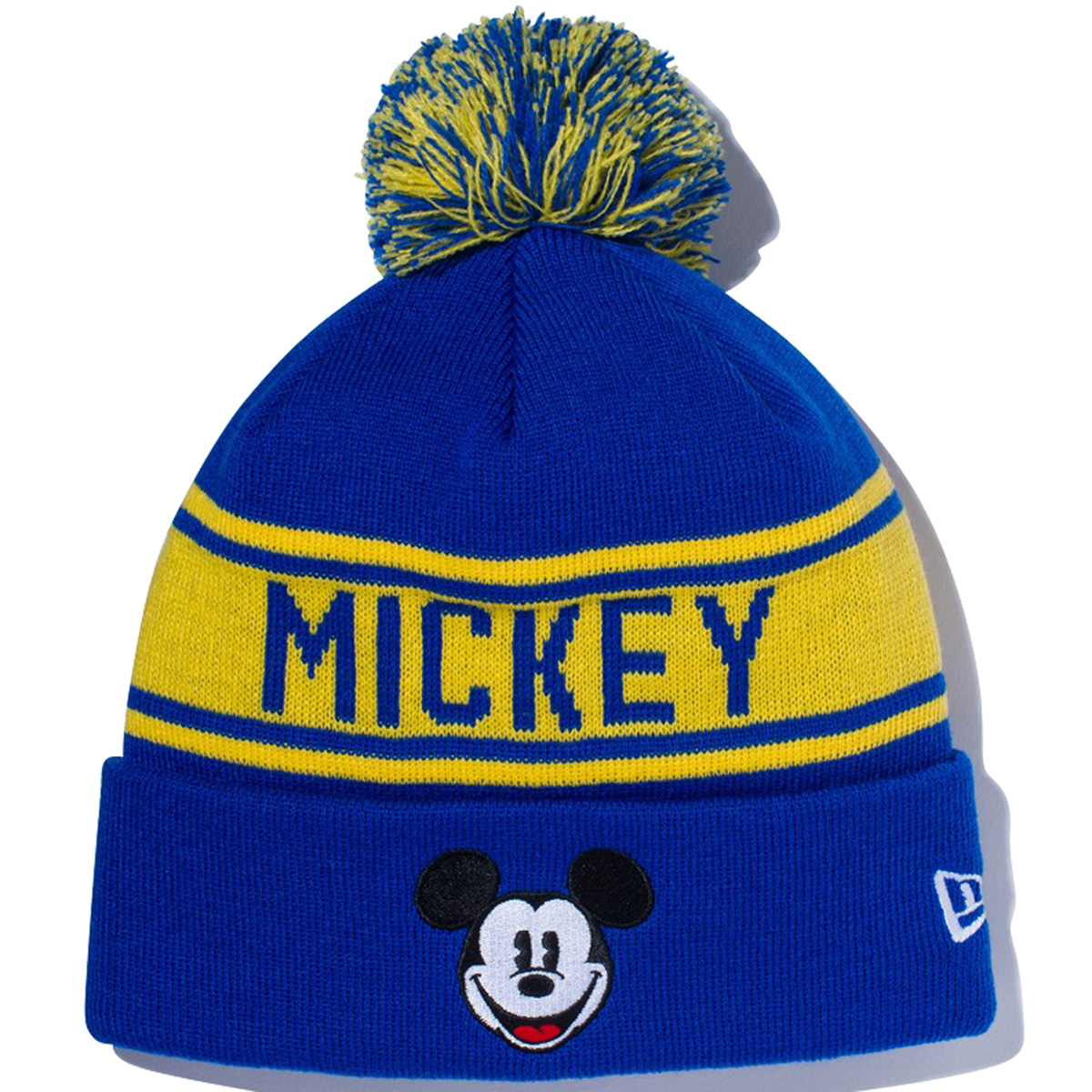 POM PON KNIT DISNEY MICKEY ニットキャップ