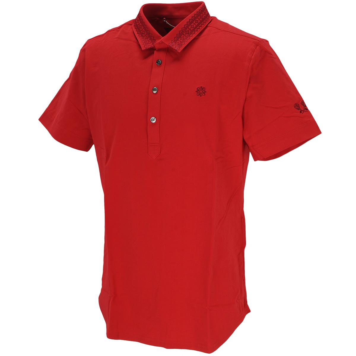 BlackLabel 鹿の子塩縮加工 半袖ポロシャツ