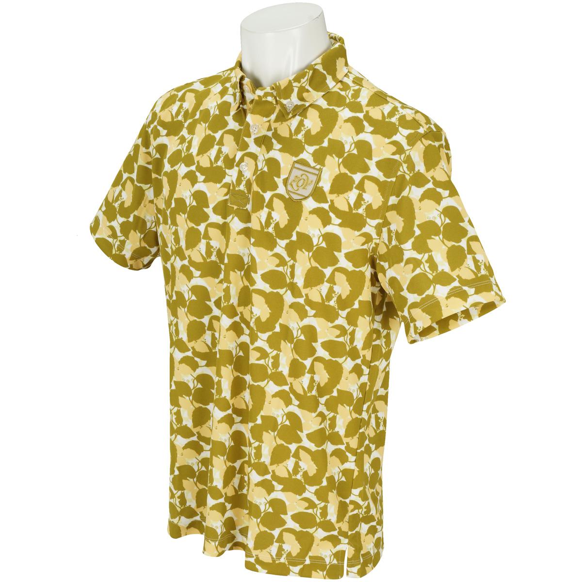 Moomin リーフプリント 半袖ポロシャツ