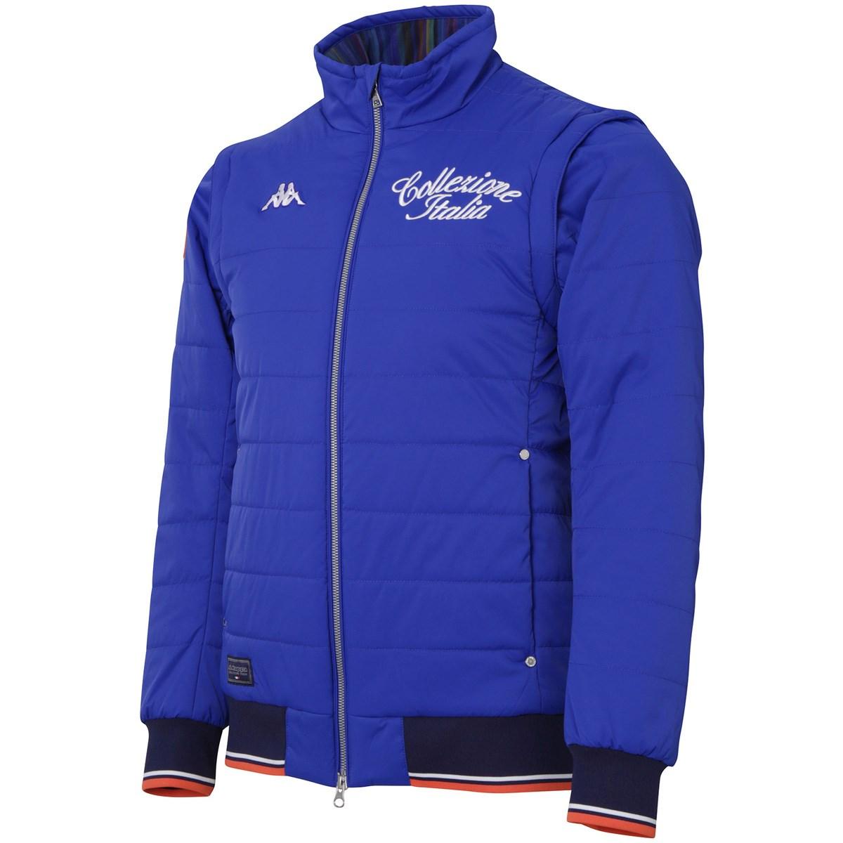 カッパ Collezione ITALIA 袖着脱ストレッチ中綿ジャケット