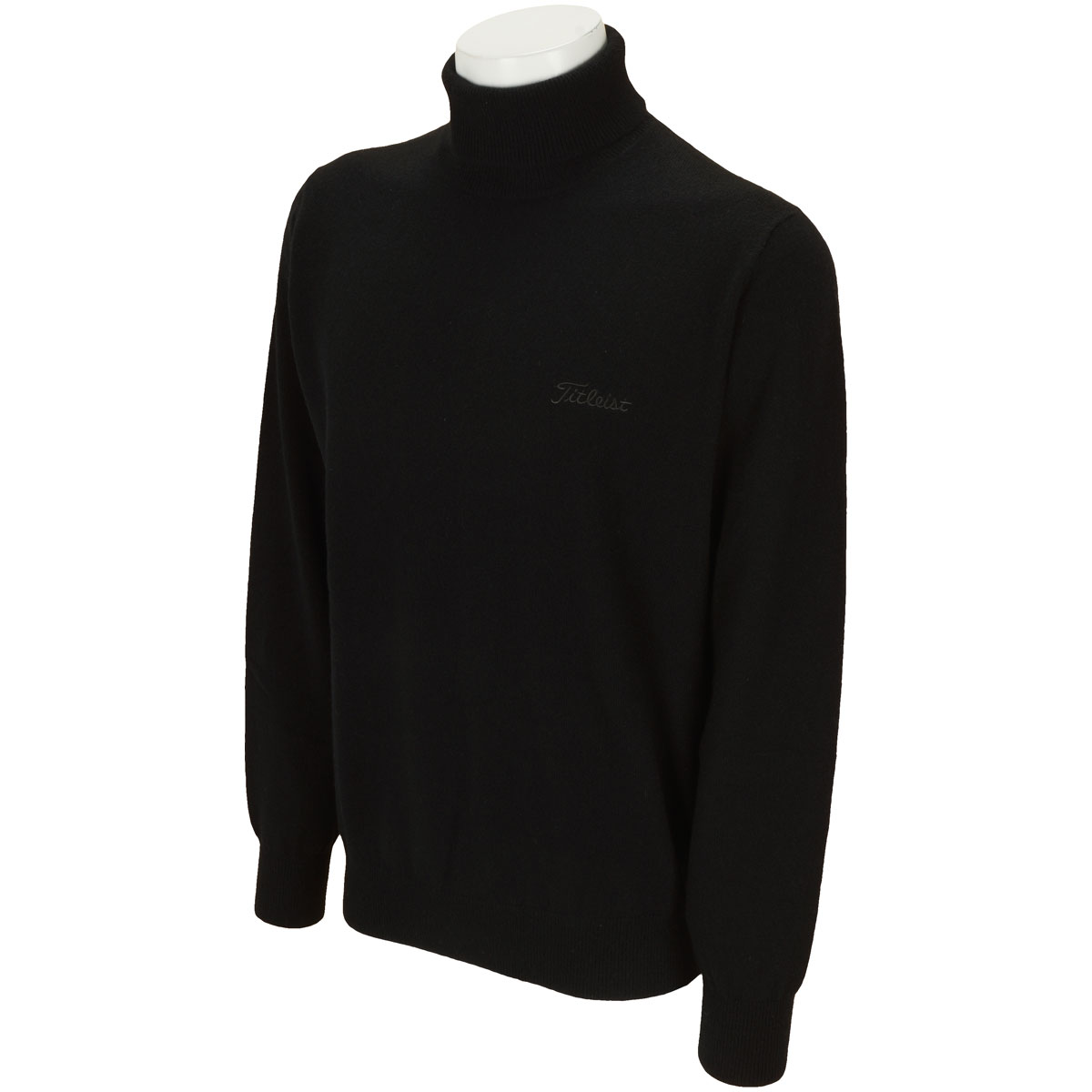 カシミヤタートルセーター