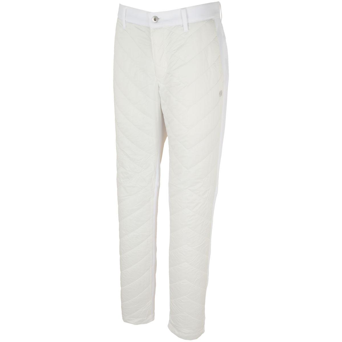 WhiteLabel 高密度タフタ薄中綿パンツ