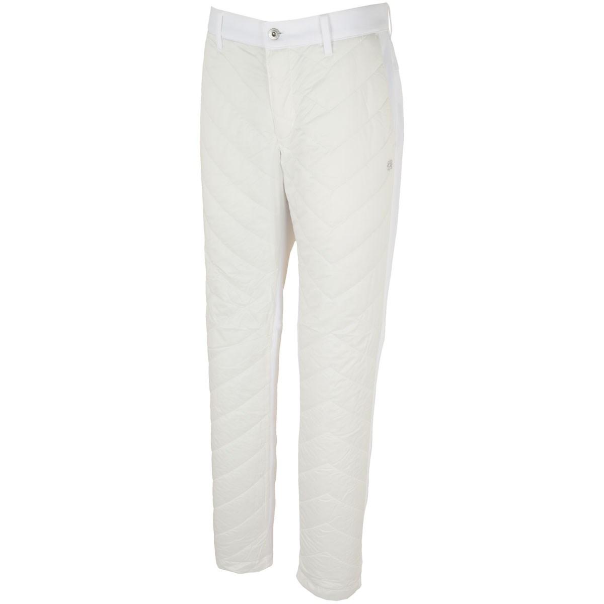 セント・アンドリュース WhiteLabel 高密度タフタ薄中綿パンツ