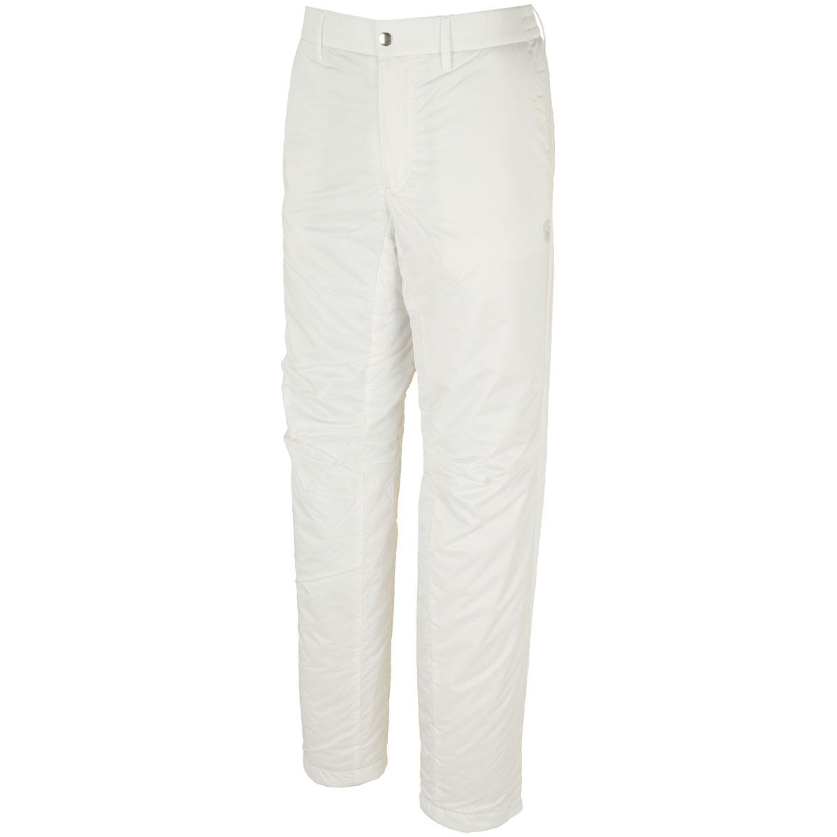 WhiteLabel 高密度タフタ中綿パンツ