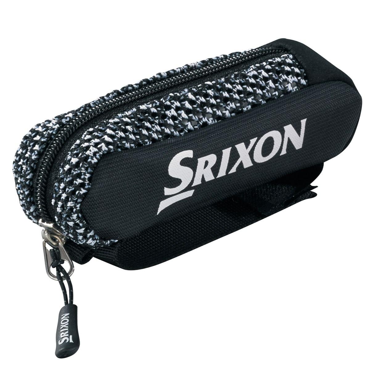 ダンロップ SRIXON ボールポーチ ブラック