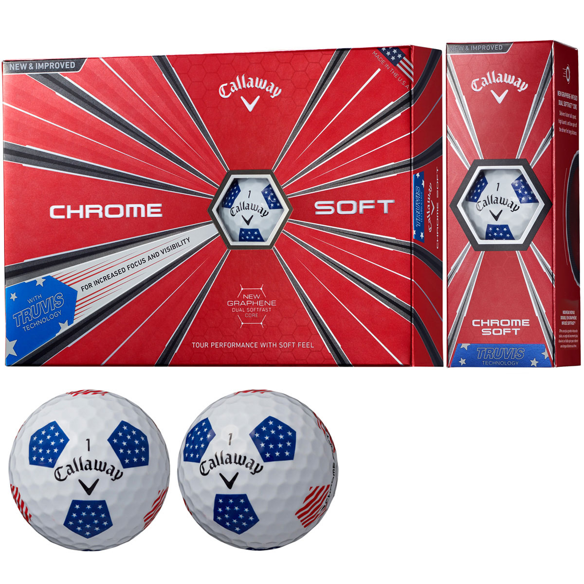 CHROME SOFT 18 TRUVIS ボール