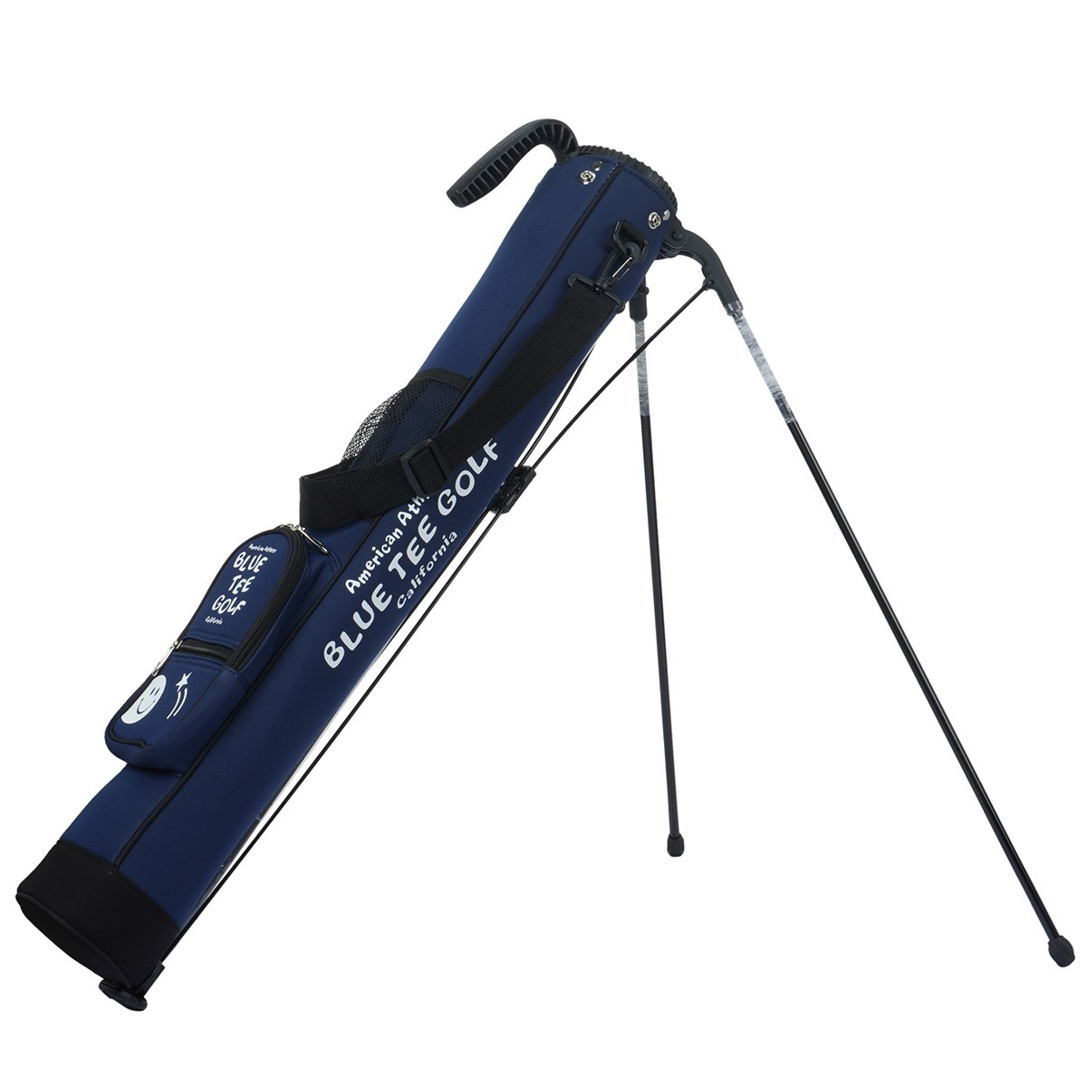 ブルーティーゴルフ BLUE TEE GOLF ストレッチスタンドクラブケース ネイビー