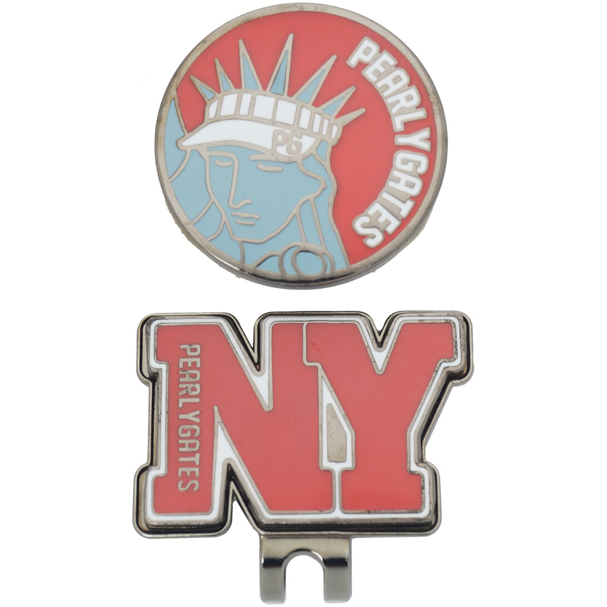 パーリーゲイツ NYCお土産鉄マーカー
