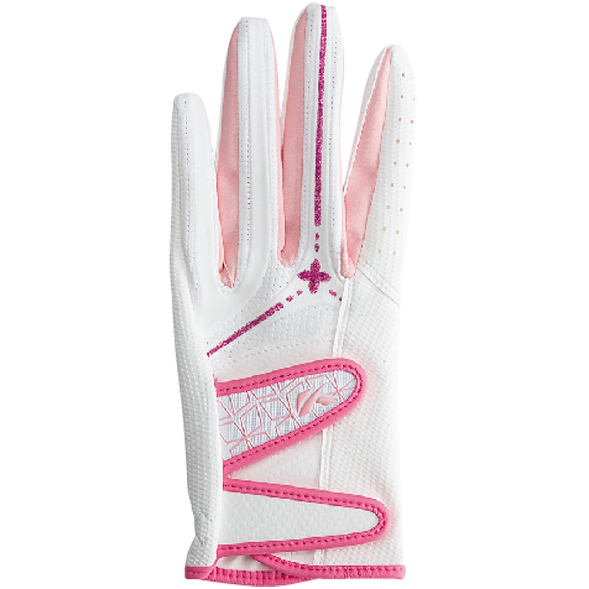 キャスコ KASCO パームフィット グローブ S 左手着用(右利き用) ホワイト/ピンク レディス