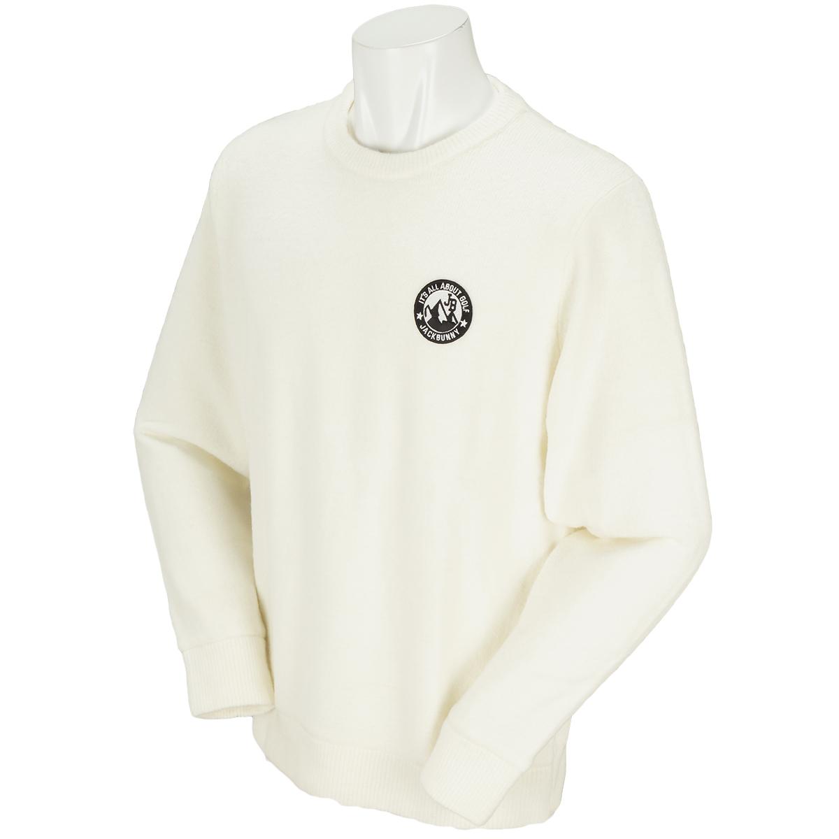 ストレッチ毛混 セーター