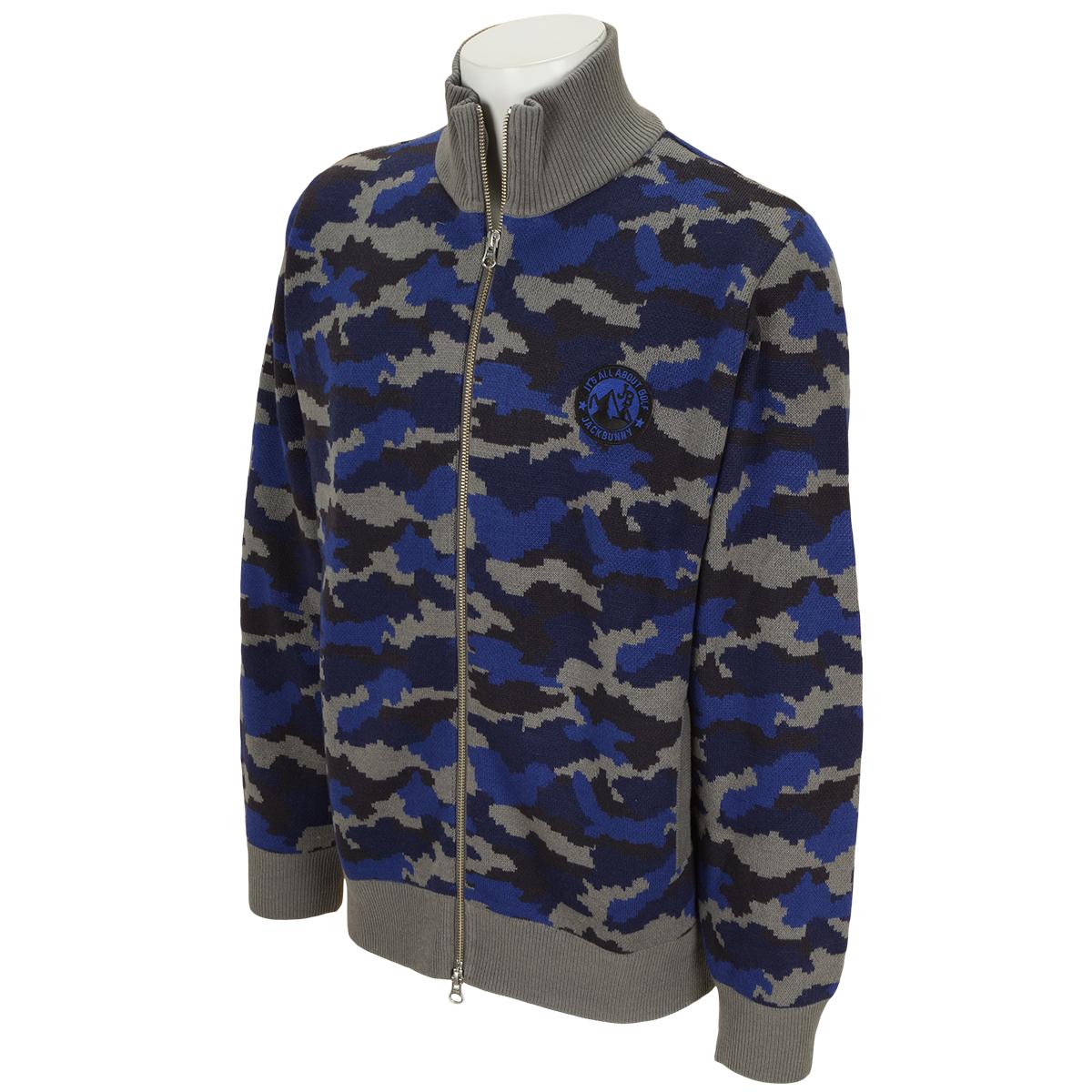 HOTWAVE カモ柄セーター