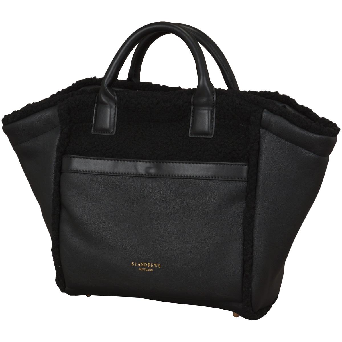BlackLabel フェイクムートンカートバッグ