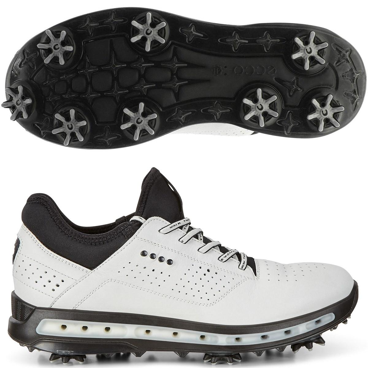 ecco エコー ゴルフ クール GTX シューズ 26.5cm/EUサイズ42 ホワイト