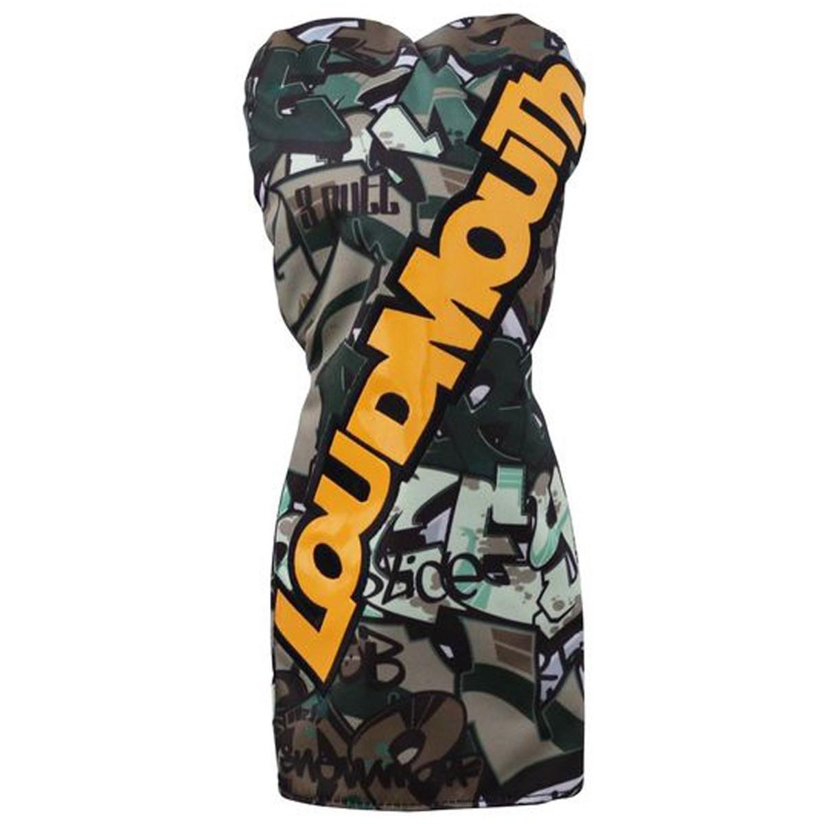 ラウドマウスゴルフ(LOUDMLOUTH) ヘッドカバー DR用 タグスカモ
