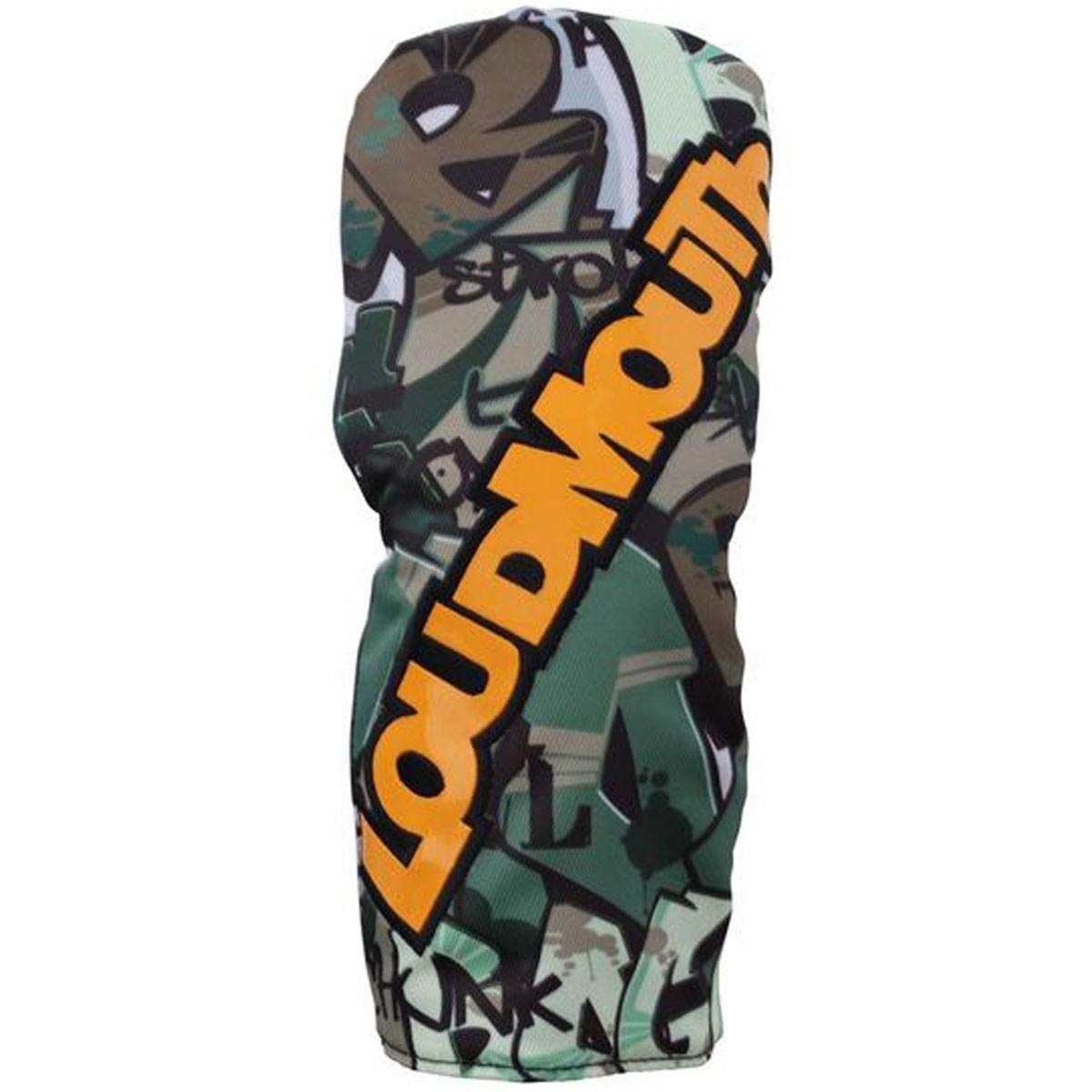 ラウドマウスゴルフ(LOUDMLOUTH) ヘッドカバー FW用 タグスカモ