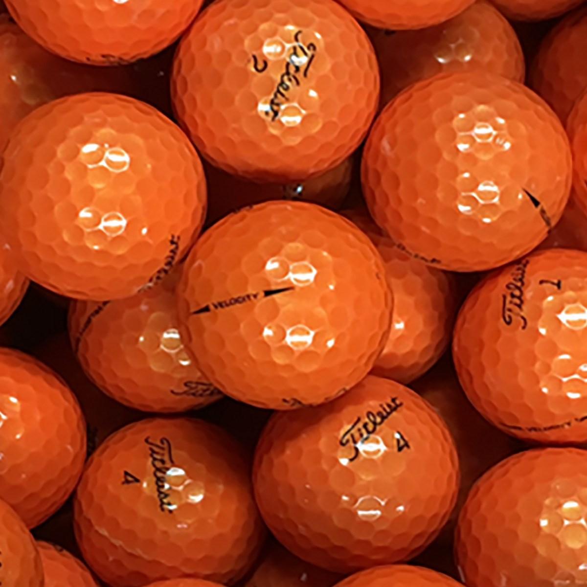 ロストボール タイトリスト混合 Sランク オレンジ系 20個セット