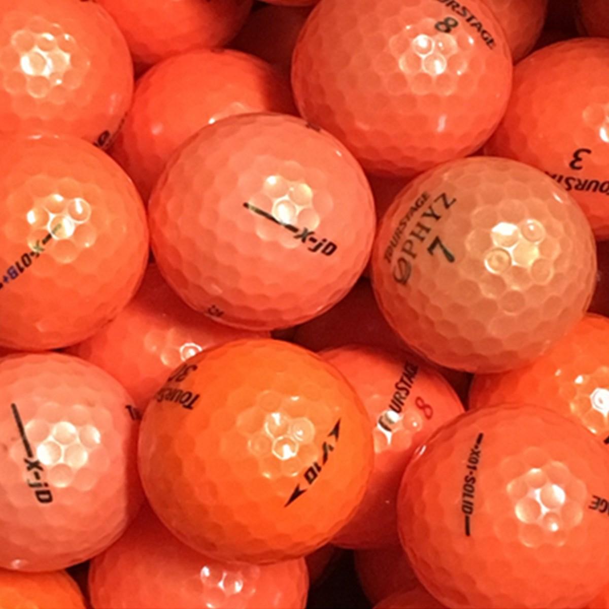 ロストボール ツアーステージ混合 Sランク オレンジ系 20個セット