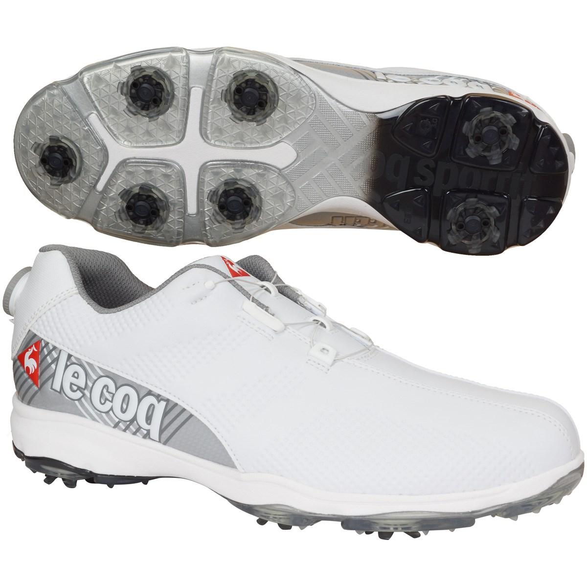 ルコックゴルフ Le coq sportif GOLF ゴルフシューズ 24.5cm ホワイト WH00