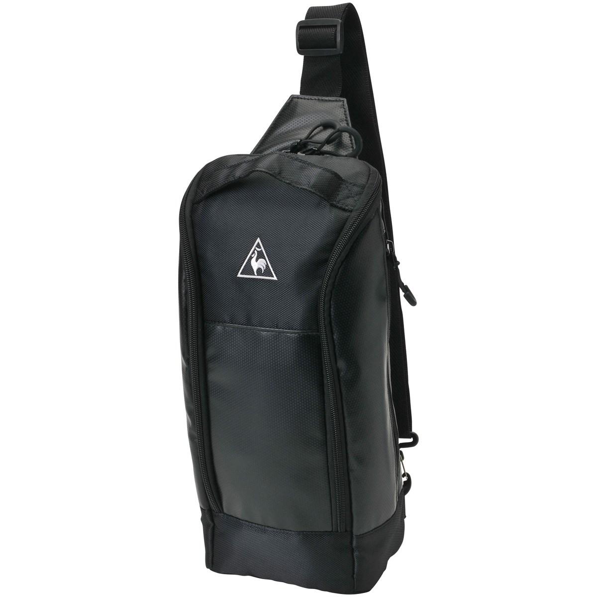 [2019年モデル] ルコックゴルフ Le coq sportif GOLF ボディバッグ ブラック BK00 メンズ