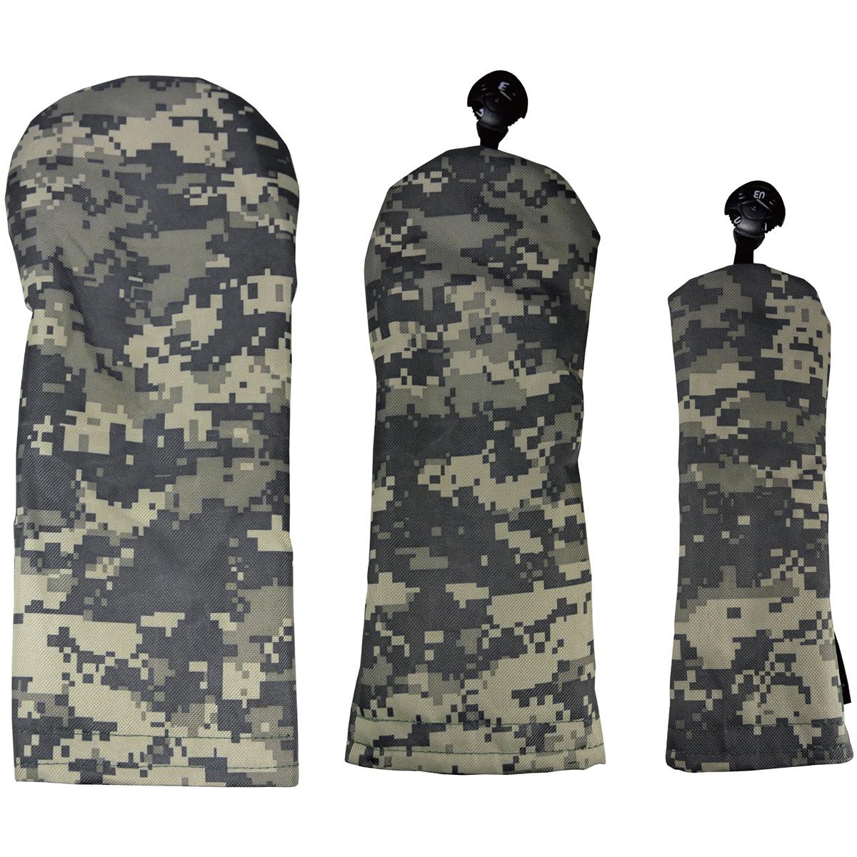 カラー限定 スタイルヘッドカバー(DR用×1+FW用×1+UT用×1)3点セット