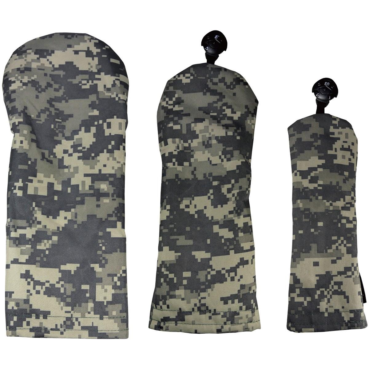 AZROF カラー限定 スタイルヘッドカバー(DR用×1+FW用×1+UT用×1)3点セット